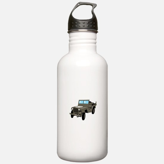 WWII Army Jeep Water Bottle