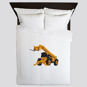 Front End Loader Queen Duvet