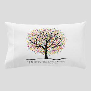 Teacher appreciation quote Pillow Case