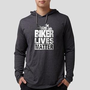 Biker Lives Matter Long Sleeve T-Shirt