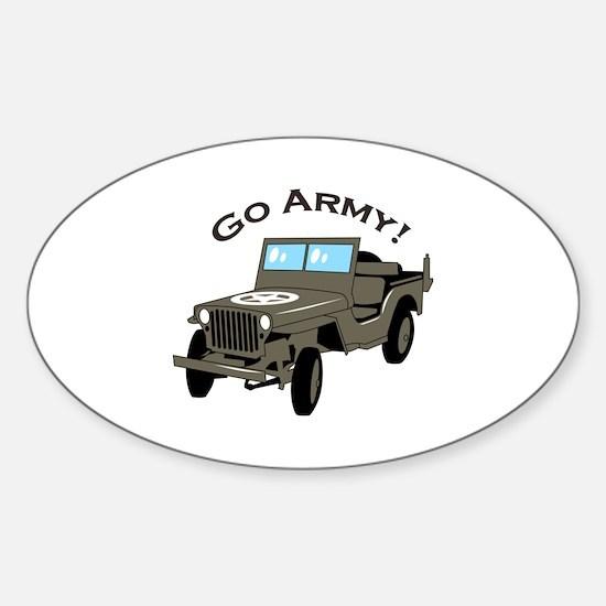 Go Army Decal