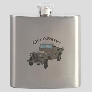 Go Army Flask