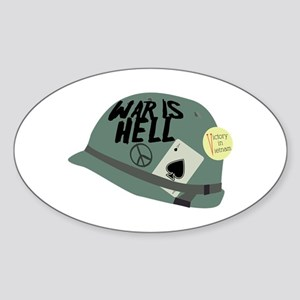 War is Hell Sticker
