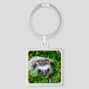 Scrapper the Hedgehog Square Keychain