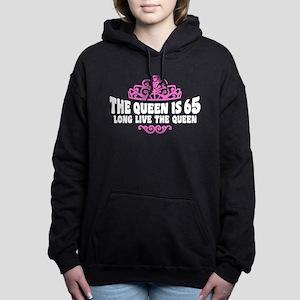 The Queen is 65 Women's Hooded Sweatshirt
