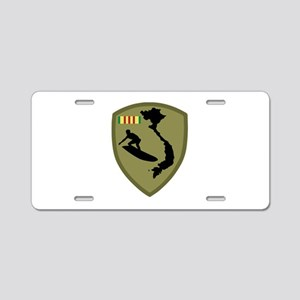 Mekong River Surf Club Aluminum License Plate