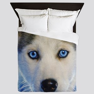 Husky Puppy Queen Duvet