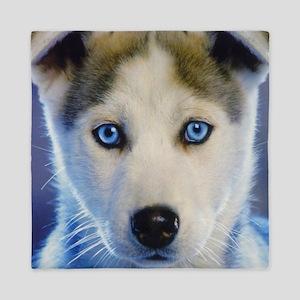 Husky Puppy Queen Duvet