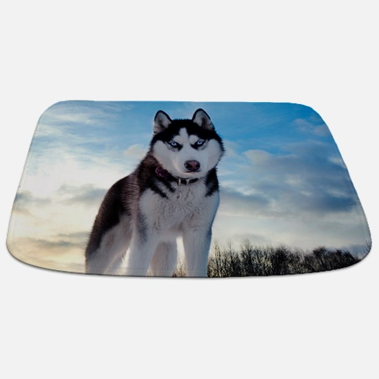 Husky Dog Outdoors Bathmat