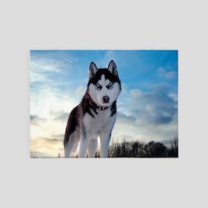 Husky Dog Outdoors 5'x7'Area Rug