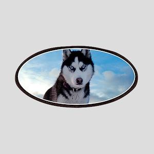 Husky Dog Outdoors Patch