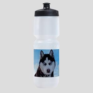 Husky Dog Outdoors Sports Bottle