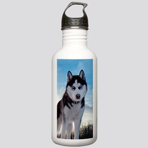 Husky Dog Outdoors Sports Water Bottle