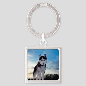 Husky Dog Outdoors Keychains