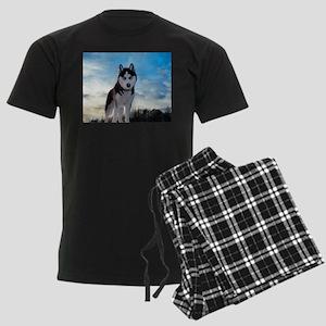 Husky Dog Outdoors pajamas