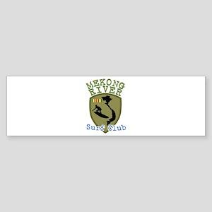 Mekong River Surf Club Bumper Sticker