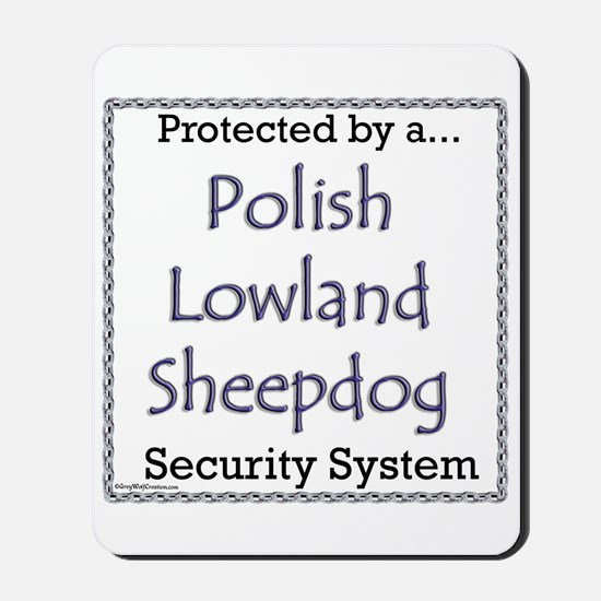 Lowland Security Mousepad