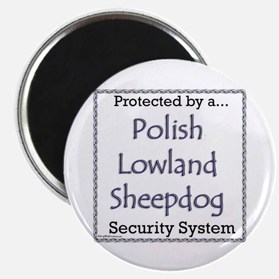 Lowland Security Magnet