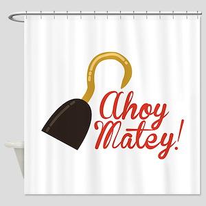 Ahoy Matey! Shower Curtain