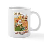 Naughty Santa Mug