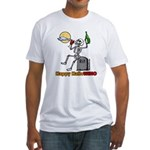 HalloWINO Fitted T-Shirt