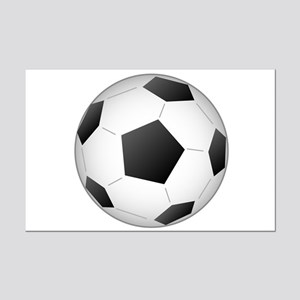 Soccer Ball Mini Poster Print