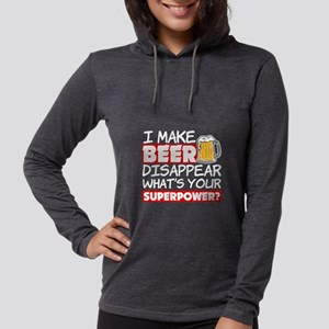 I Make Beer Disappear Funny Wh Long Sleeve T-Shirt