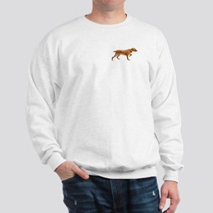 Pointing Wirehaired Vizsla Sweatshirt