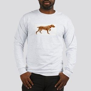 Pointing Wirehaired Vizsla Long Sleeve T-Shirt
