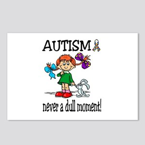 AUTISM ~ never a dull moment! Postcards (Package o