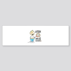 AUTISM ~ never a dull moment! Bumper Sticker
