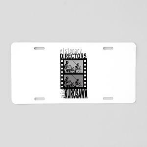 Akira Kurosawa Aluminum License Plate