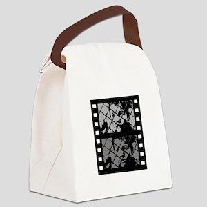 French Cinema Film Canvas Lunch Bag