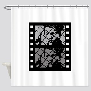 French Cinema Film Shower Curtain