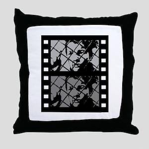 French Cinema Film Throw Pillow