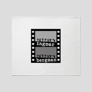 Ingmar Bergman Throw Blanket