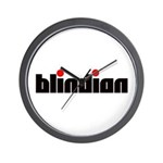 Blindian Wall Clock