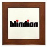 Blindian Framed Tile