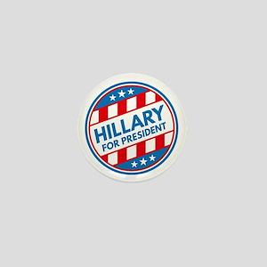 Hillary For President Mini Button