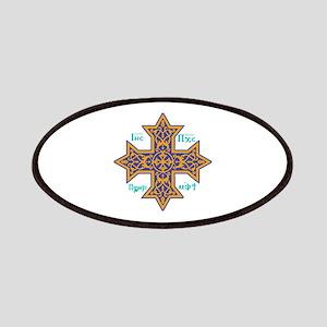 Coptic Cross Patch