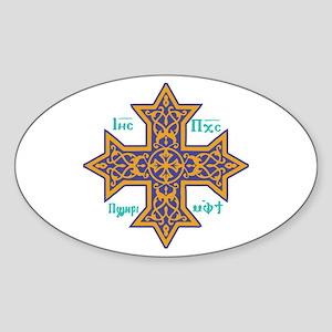 Coptic Cross Sticker
