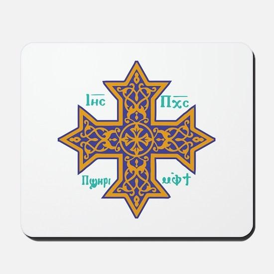 Coptic Cross Mousepad