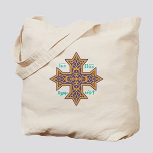 Coptic Cross Tote Bag