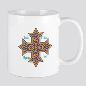 Coptic Cross Mugs