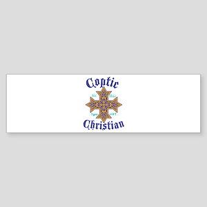 Coptic Christian Bumper Sticker