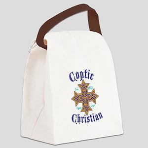 Coptic Christian Canvas Lunch Bag
