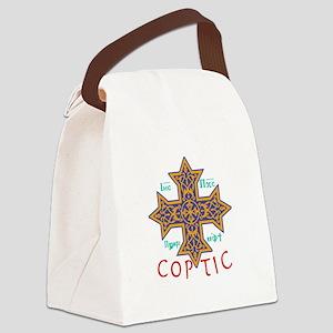 Cross Coptic Canvas Lunch Bag