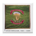 Civil War Irish Brigade Tile Coaster