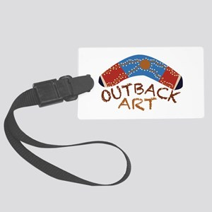 Outback Art Luggage Tag