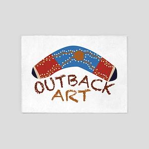 Outback Art 5'x7'Area Rug